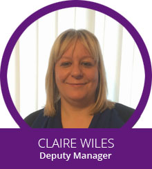 Claire Wiles - Deputy Manager